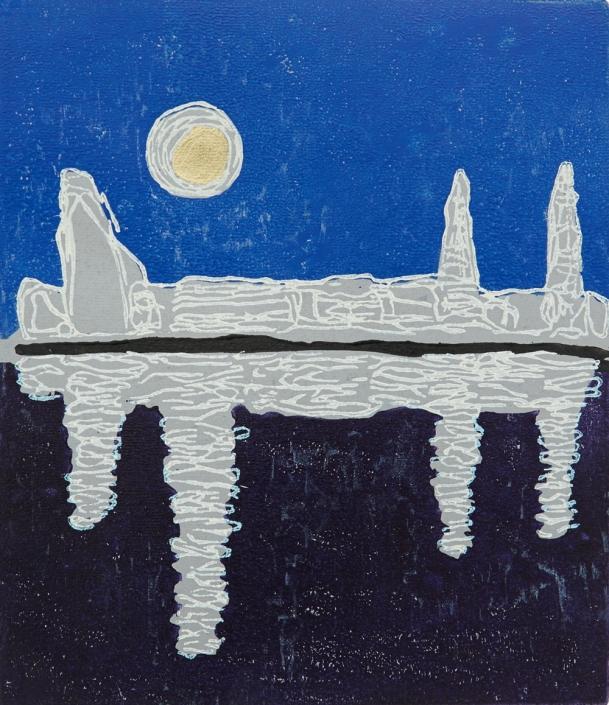 Herrad Gutekunst-Alster mit Mond