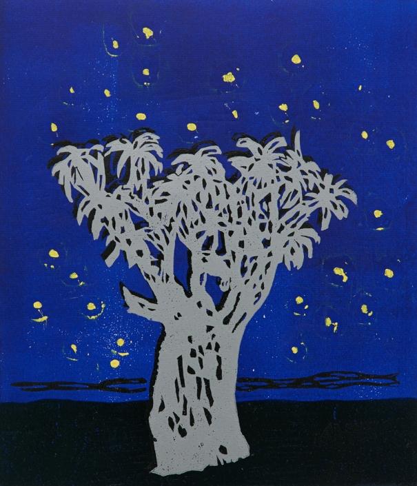 Herrad Gutekunst-Baum mit Sternen