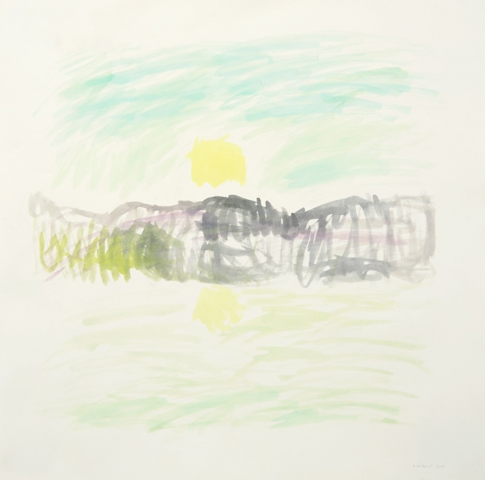 Herrad Gutekunst-Sonnenaufgang Alsterlauf